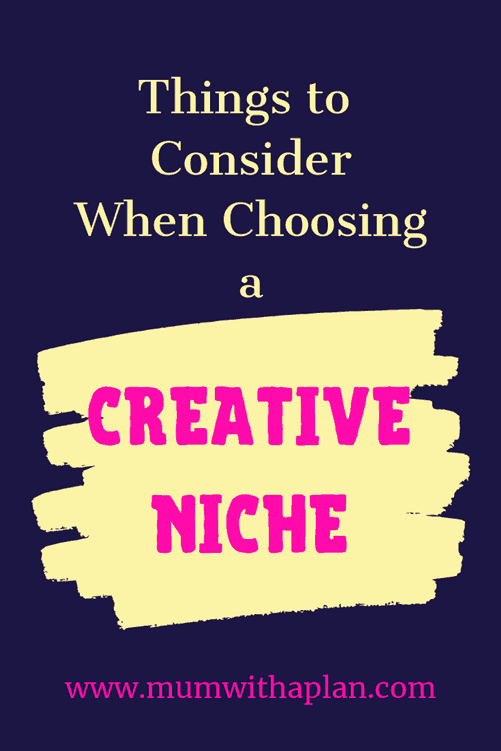 Many people would love to have their own creative business, and choosing the correct niche is the most important thing to consider