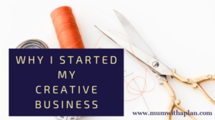 why i started my creative business