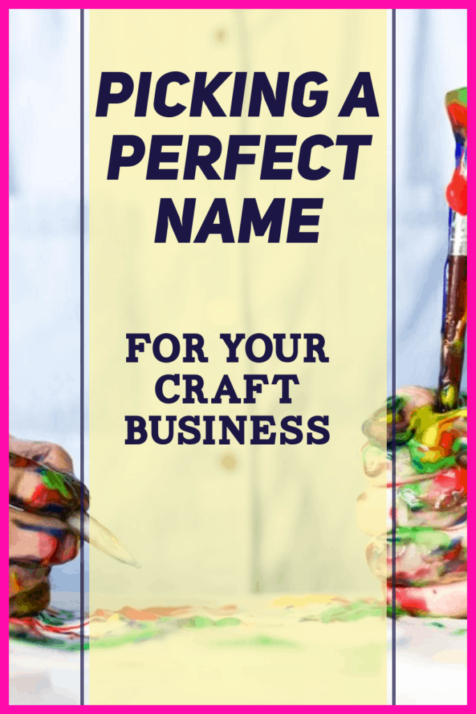 choosing a good name for a craft business